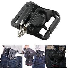 For DSLR Camera Fast Loading Holster Hanger Waist Belt Buckle Button Mount Clip