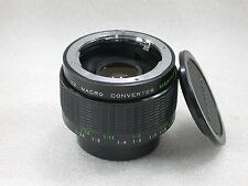 Makinon MC X2 Macro Teleconverter, Pentax PK Fit