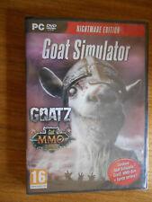 Goat simulator : Nightmare edition / Jeu PC VF / NEUF sous Blister