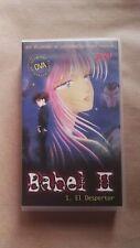 Babel II, anime VHS (capítulo 1)