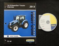 """NEW HOLLAND T4.75 POWERSTAR TRACTOR """"OVERVIEW"""" DVD MANUAL OPTIONS FEATURES ETC.."""