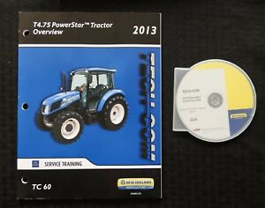 "NEW HOLLAND T4.75 POWERSTAR TRACTOR ""OVERVIEW"" DVD MANUAL OPTIONS FEATURES ETC"