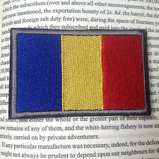 Romania Romanian NATIONAL FLAG MILSPEC MORALE TACTICAL MILITARY AIRSOFT PATCH