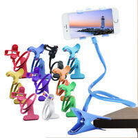 360°Flexible Arms Lazy Stand Clamp Mount Phone Holder Stand