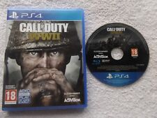 CALL OF DUTY WWII ww2 PLAYSTATION 4 PS4 FPS SHOOTER FAST POST