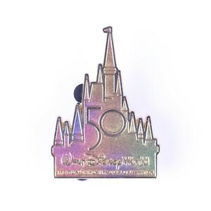 Walt Disney World 50th Anniversary Cinderella Castle Disney Pin