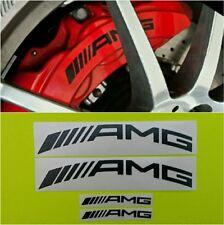 AMG CURVE Brake Caliper HIGH TEMPERATURE Decal Sticker Set of 4 (Black)