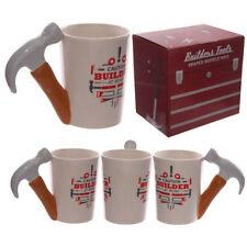 Tazza Mug in Ceramica con Manico Forma di Martello Attrezzo Lavoro Colazione