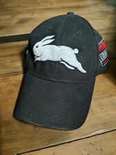 NRL South Sydney Rabbitohs Team Training 2007 White/Black Cap Hat