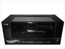 LAMBORGHINI MURCIELAGO LP 670-4 SV MATT BLK ELITE 1/43 MODEL CAR HOTWHEELS T6936