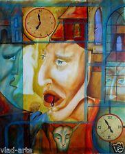 "Painting Original Oil 20""х16"" Russian Art by Pronkin CONTEMPORARY ART surrealism"