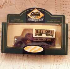 DAYS GONE LLEDO ~ AUTUMN 1996 COLLECTORS CLUB ~ 1939 FORD CANVAS-BACK TRUCK