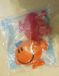 BNIP McDonalds AUS 2018 Happy Meal Toy Sanrio Mr Men Greedy & Little Miss Fun