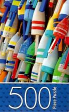 "Jigsaw Puzzle 500pc Colorful Buoys 11""X14"" NEW Cardinal Industries Nautical#TY80"