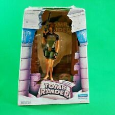 Tomb Raider Lara Croft in Wet Suit Articulated Figure w/ Base Playmates 1998