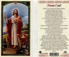 Nicene Creed Prayer Laminated Holy Card I Believe in One God the Father Almighty