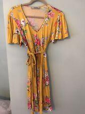 Asos Yellow Floral Maternity Dress 12