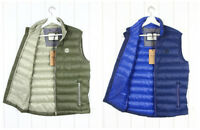NEW WRANGLER QUILTED VEST  WAISTCOAT SLEEVELESS JACKET BLUE OR OLIVE  S SMALL