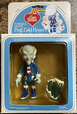 VINTAGE 1984 CARE BEARS FIGURE PROF. COLD HEART NEW IN PACKAGE 61450 Kenner