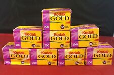 Kodak Gold 200 35mm 36exp Color Film 8 Rolls 135-36