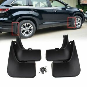Fit FOR TOYOTA Highlander 2014- 2019 Mud Flaps Splash Guard Fender Mudguard kit