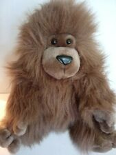 "Dankin Applause Plush Sitting ""Sillie Gorillie"" Gorilla Brown Stuffed Animal 14"""