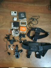 Gopro HD HERO 2 Action Camera with Accessories Wearable and gear mountable