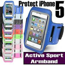 Para Apple iPhone se 5S 5 Brazalete con activo Ajustable Deporte Gimnasio Correr Cubierta