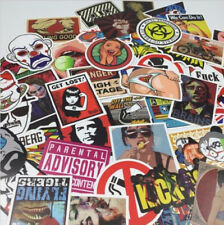 100Pcs/SET Graffiti Laptop Sticker Skateboard Sticker Luggage Car Decal Mix YA9C