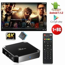 X96MINI S905W Android 7.1.2 Nougat 4K Quad Core Smart TV BOX WIFI MINI PC Media