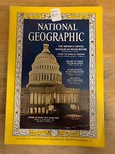 National Geographic January 1964 US Capitol, Tristan, Mt Sinai, Diving