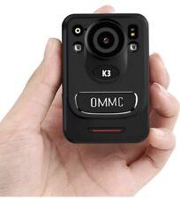 1440P HD Police Body Camera, OMMC K3 Mini Portable Body Camera with Night Vision