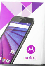Motorola Moto G Xt1540 Screen 5 inch Smartphone Unlocked Blk Priced To Sell