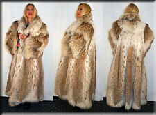New Russian Lynx Fur Coat Size 6XL Efurs4less