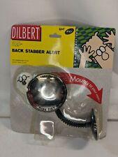 Dilbert Back Stabber Alert Computer Rear View Mirror Monitor Mounted Dogbert