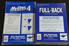50 E. Gerber Mylites 4 + Full Backs Silver & Golden Age Comics 775M4 / 750FB