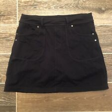 Athleta Women's Size S Skort Skirt Shorts Black Sports Athletics Run Tennis