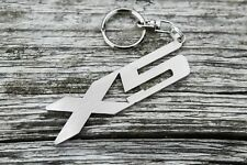 X5 keychain for  E53 E70 F15 auto car keyring stainless steel Schlüsselanhänger