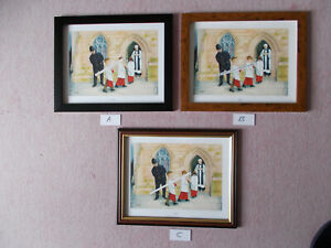 COMICAL POLICE PRINT BY JEDD FRAMED - LIMITED EDITION AND SIGNED (B)