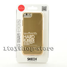 Skech Hard Rubber Case Cover for iPhone 6 iPhone 6s Soft Finish (Champagn Gold)