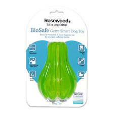 Rosewood Biosafe Pear Dog Toy | Anti-Microbial Floating Fruit Scented Dental