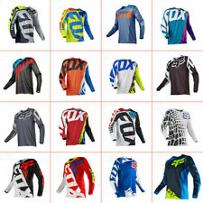 FOX Long Sleeve Downhill Shirt Racing Jersey Off-Road Mountain Bike Clothing