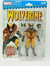"Marvel Legends Retro Brown Wolverine 6"" Action Figure X-Men Comic book toy Hulk"
