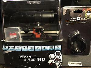 1080p Fire Fighter Video BULLET HD PRO4 Waterproof Helmet Cam+BlackJack 16GB