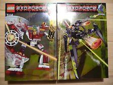 LEGO® Exo-Force Sets 8102 + 8104 NEU ungeöffnet
