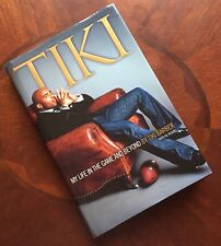 TIKI BARBER-SIGNED-MY LIFE IN THE GAME AND BEYOND HC/DJ