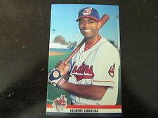 2002 Jolbert Cabrera Cleveland Indians Post Cards / Postcards