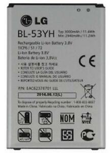 New OEM Original LG G3 BL-53YH Battery for D850 D851 D852 D855 LS990 VS985 F400