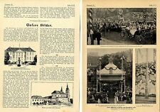 Kaiser days in Poznań and Frankfurt A.O. (with) 3 historic recordings from 1902