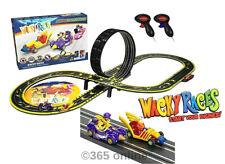 Micro Scalextric Wacky Races conjunto completo de la Raza